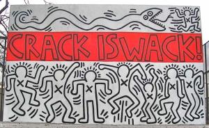 Crack Is Wack!; Keith Haring; 1986