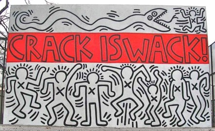 Crack Is Wack!; Keith Haring; 1986