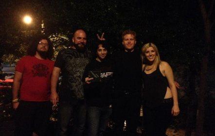 Me with Sunshine & Bullets at Smith's Olde Bar in Atlanta, GA, 7/5/14