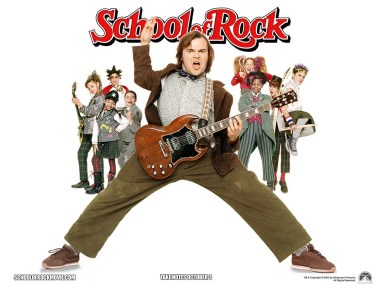 School of Rock promotional poster