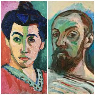Henri Matisse; left: