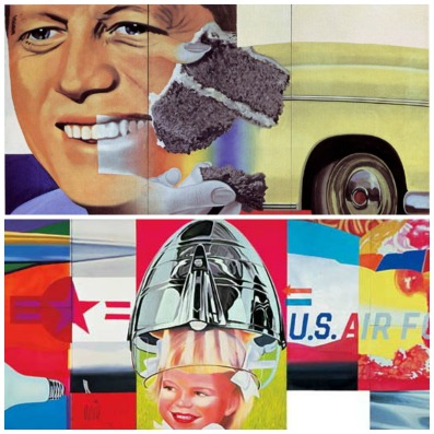 James Rosenquist; top:
