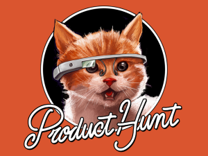 The Product Hunt cat