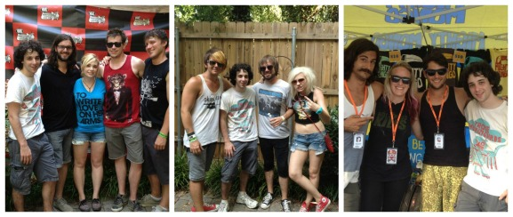 Me at Warped Tour 2012, with: June Divided (left), The Nearly Deads (middle), Might Mongo (right)